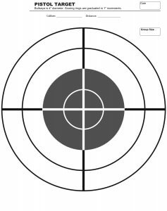 image regarding Printable Bullseye Target called Totally free Printable Aims Capturing Prepare Doing exercises Posting