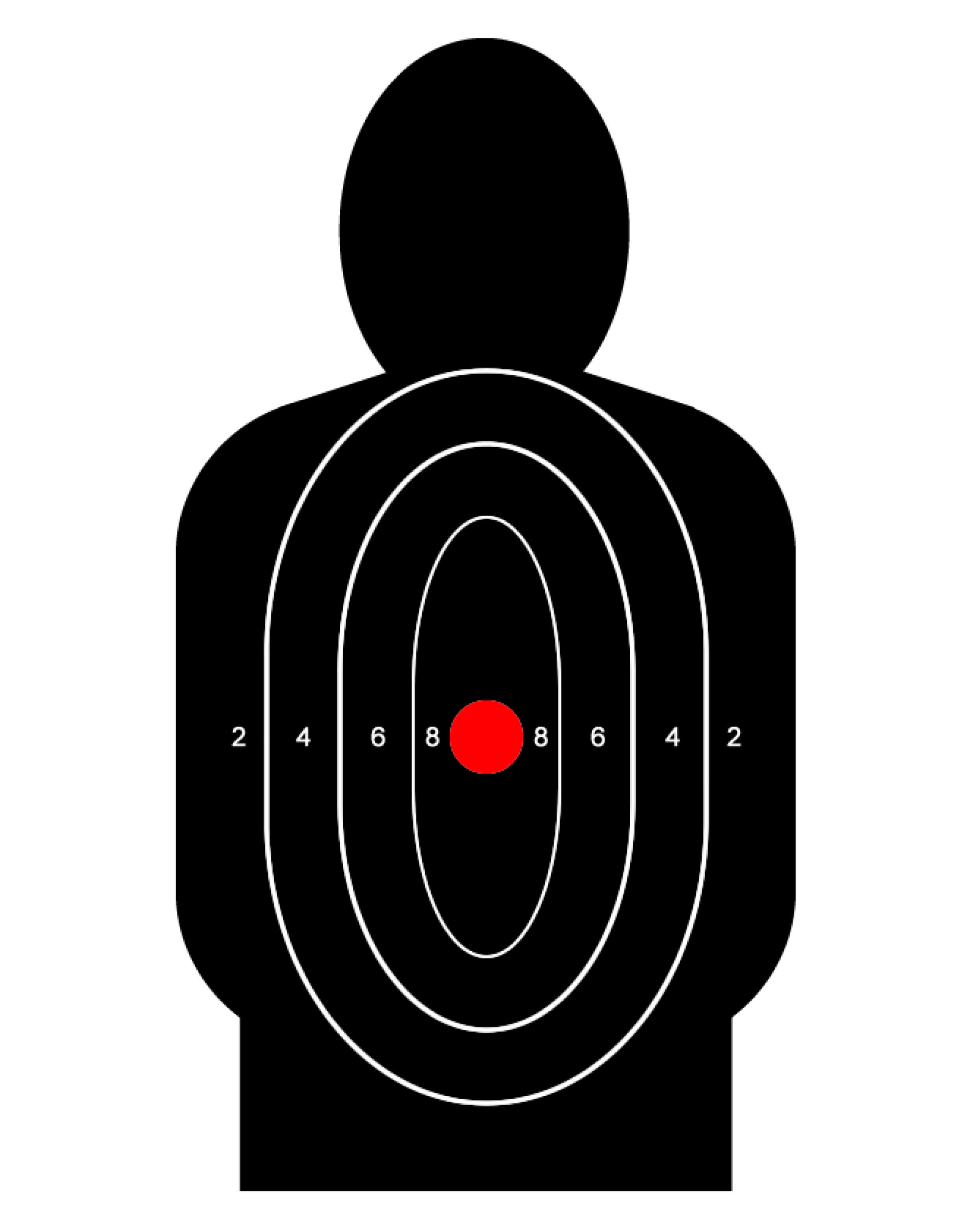 Free Printable Targets | Shooting Practice | Training ...